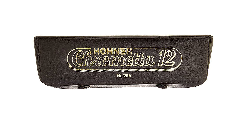 Hohner Chrometta 12 Harmonica, Key of C & G