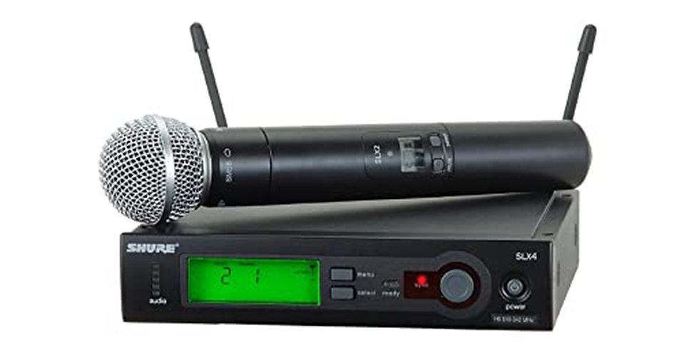 SLX24/SM58 System with SLX2/SM58 Handheld Transmitter