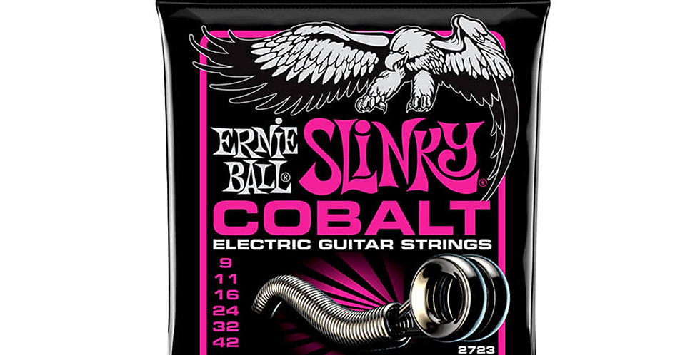 Ernie Ball 2723 Cobalt Super Slinky Electric Guitar Strings