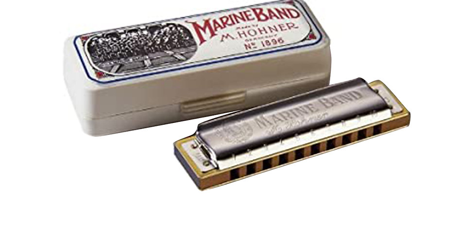 Hohner Marine Band 1896 Harmonica, Key of C, G & A