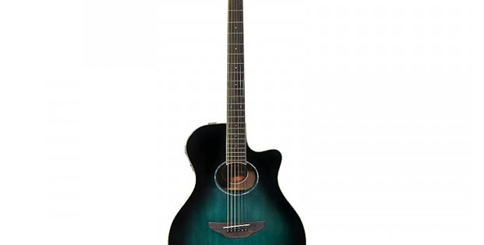 Yamaha APX600 Oriental Blue Burst Electro Acoustic Guitar