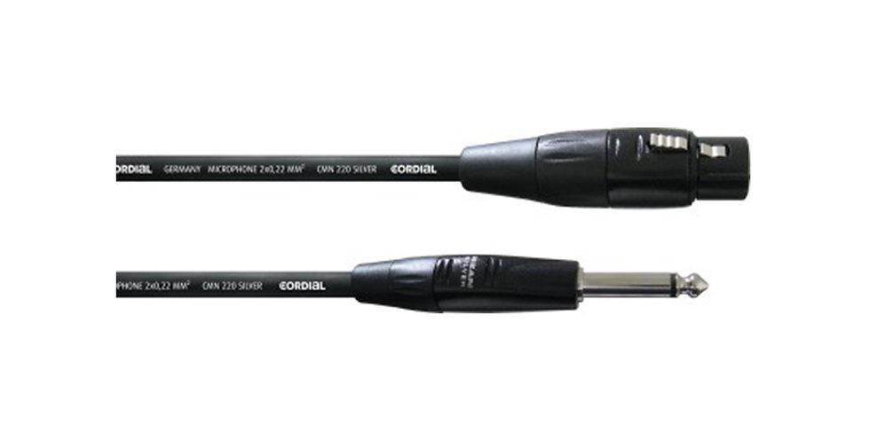 Cordial CIM 5 FP XLR to MONO cable, 5m