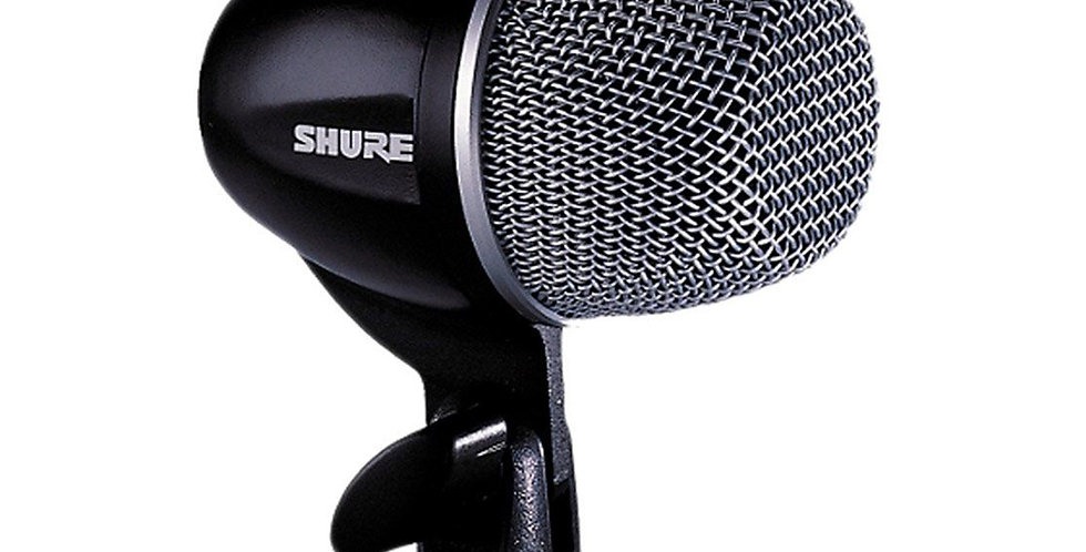 SHURE PGA52-XLR Cardioid Dynamic Kick Drum Microphone w/15 FT XLR cable