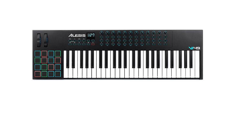 ALESIS VI49 ADVANCED 49 KEY USB/MIDI Keyboard