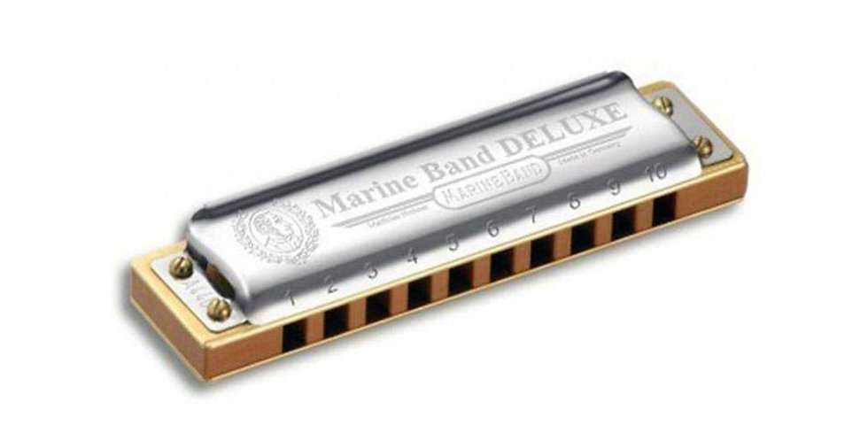 HOHNER HARMONICA DELUXE Bb FLATE