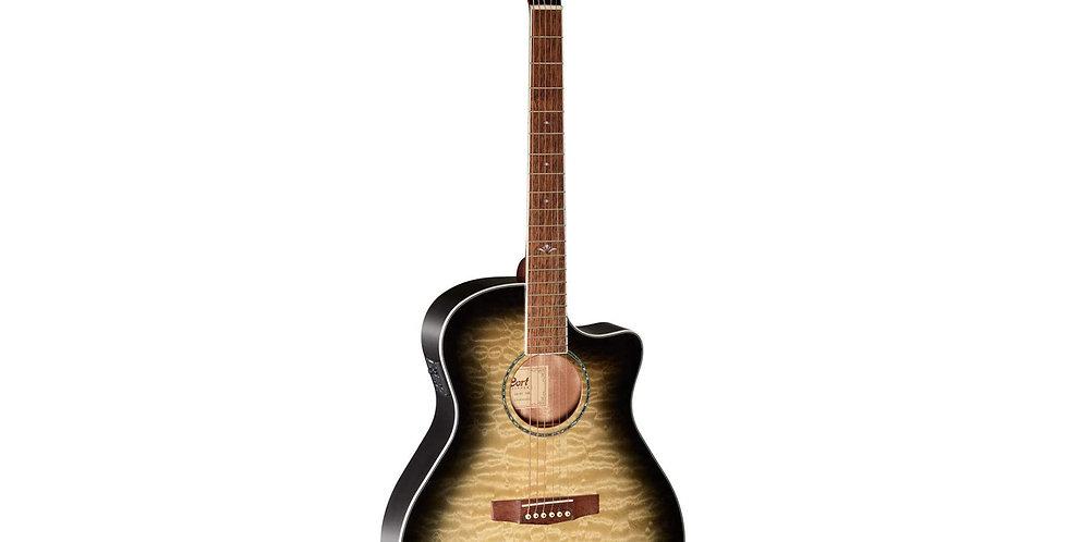 CORT GA-QF-TBB Semi Acoustic Guitar