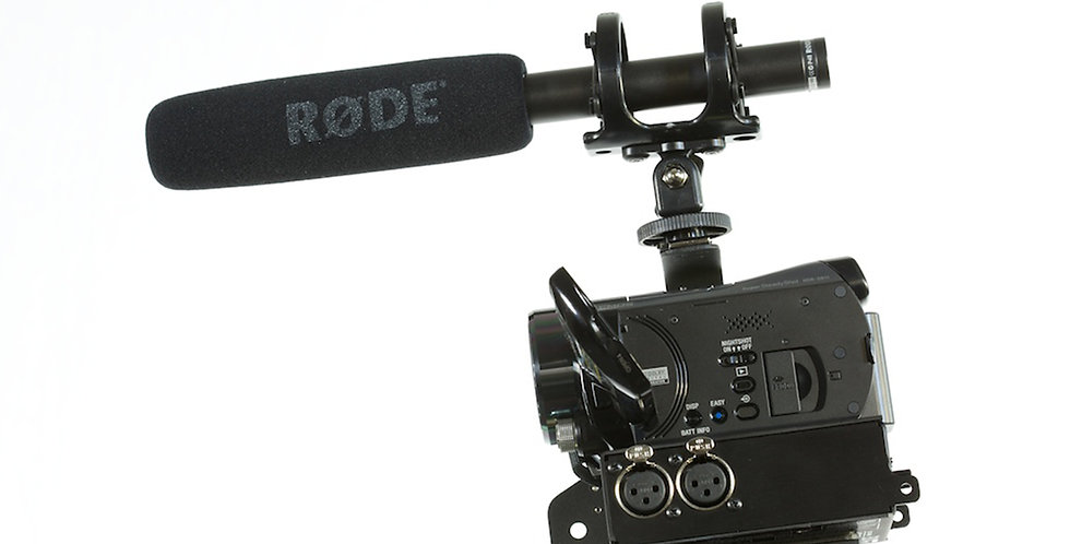 Rode NTG2 super cardiod shotgun microphone