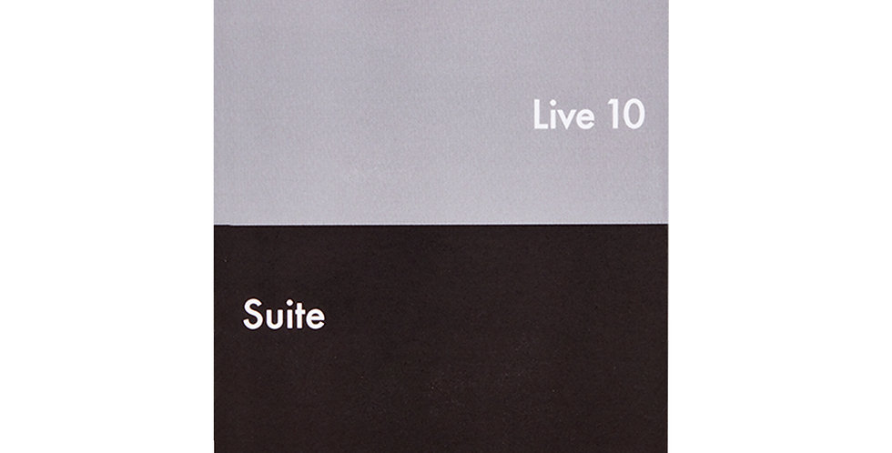 Ableton Live 10 Suite Edition, UPG from Live Intro