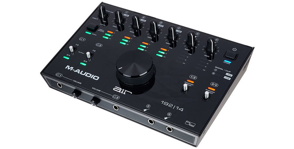 M-Audio AIR 192|14 USB 8x4 Audio Interface with MIDI