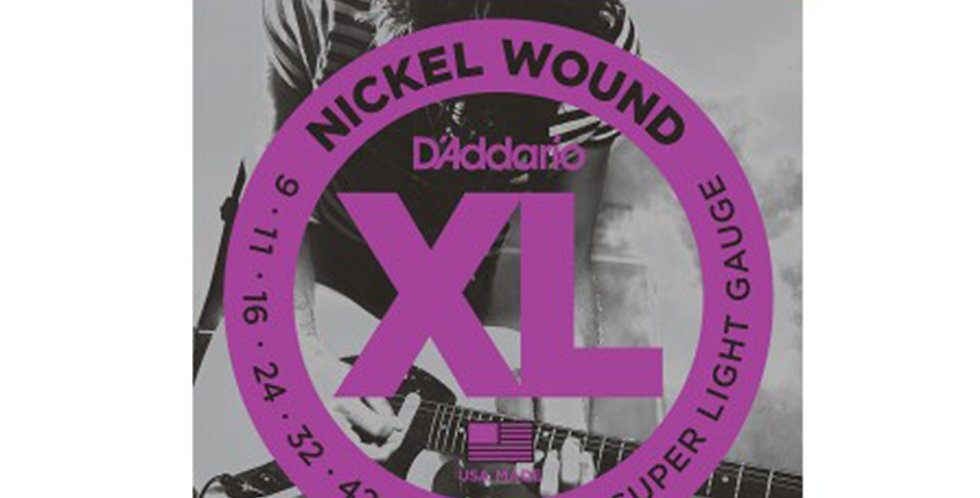 D'ADDARIO EXL120 Electric Guitar String set