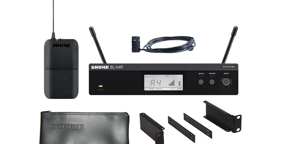 SHURE BLX14R/W85 Wireless Rack-mount Presenter System with WL185