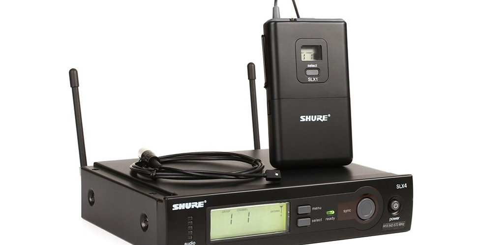 SLX14/93 Combo System with WL93 Lavalier Microphone