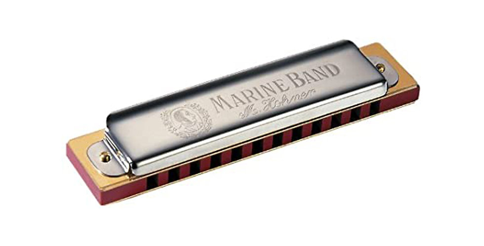 Hohner Marine Band, 12 Holes Harmonica in Key of C