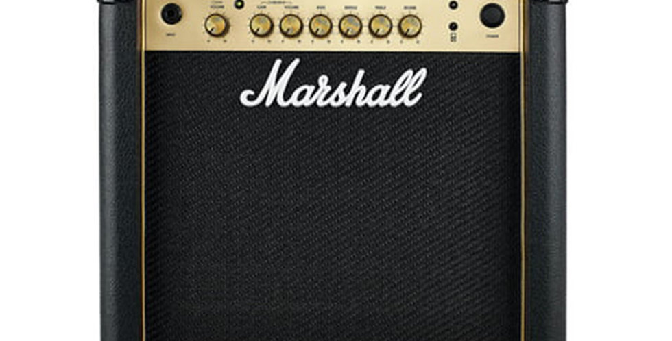 Marshall MG-15GR Gold Series 15-Watts Combo Guitar Amplifier with Reverb