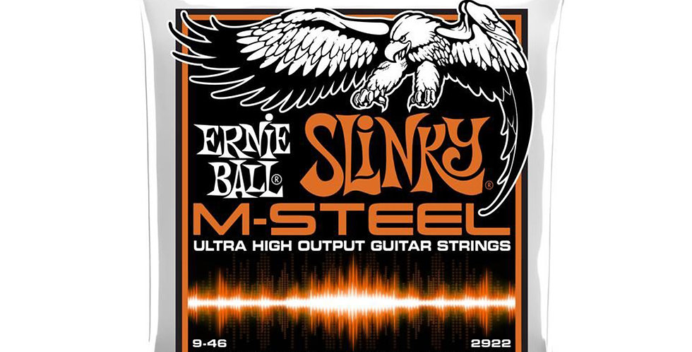 Ernie Ball 2922 Hybrid Slinky M-Steel Electric Guitar Strings 9-46