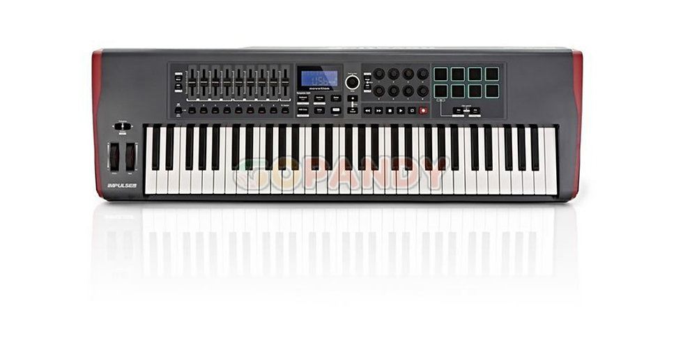 NOVATION IMPULSE 61 USB MIDI