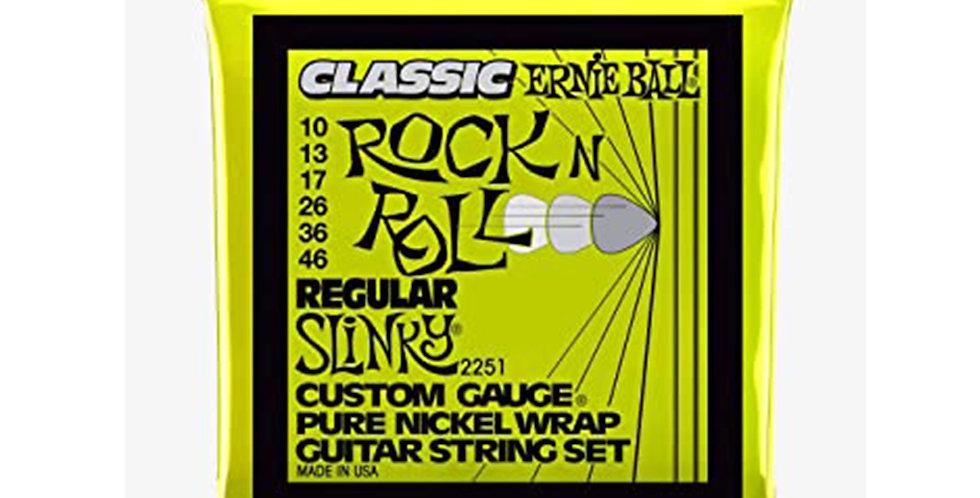 Ernie Ball 2251 Regular Slinky Electric Guitar Strings 10-46