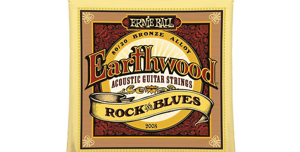 Ernie Ball Earthwood 80/20 Bronze Alloy Acoustic Guitar Strings