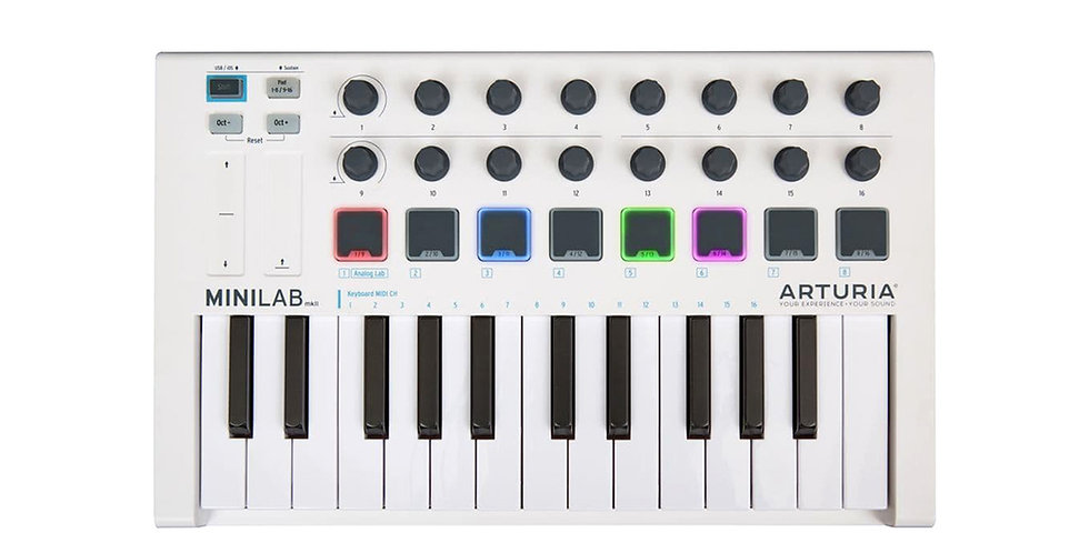 Arturia MiniLab MkII, 25 Slim Key MIDI controller