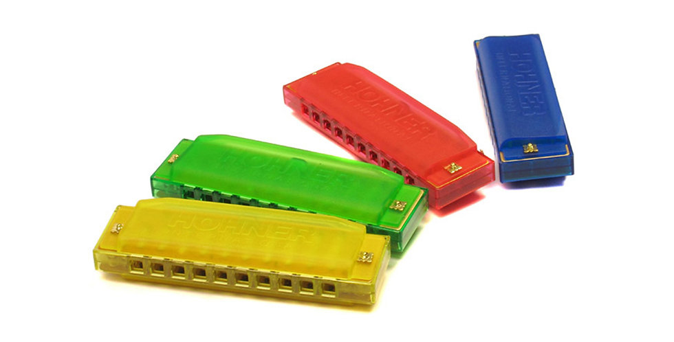 HOHNER HARMONICA Happy Color Harp