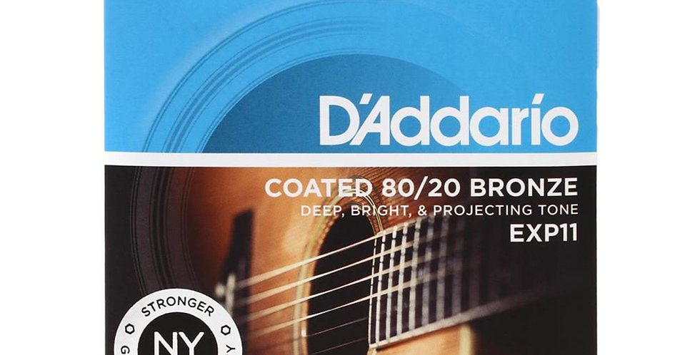 D'ADDARIO EXP11 Acoustic Guitar String set