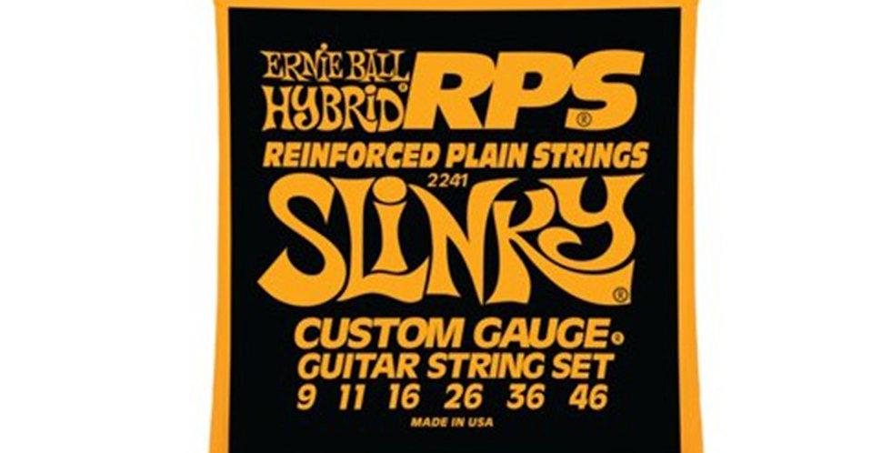 Ernie Ball 2241 Hybrid RPS Slinky Electric Guitar Strings 9-46