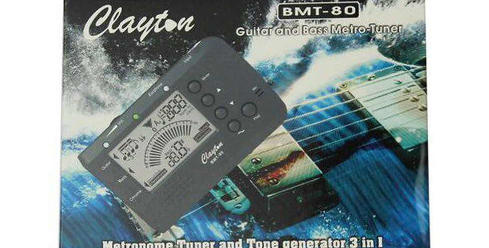 Clayton BMT-80 Tuner and Tone generator