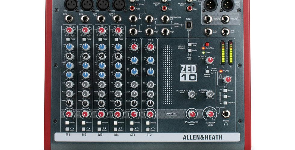 ALLEN & HEATH MIXER ZED 1002/X analogue mixer