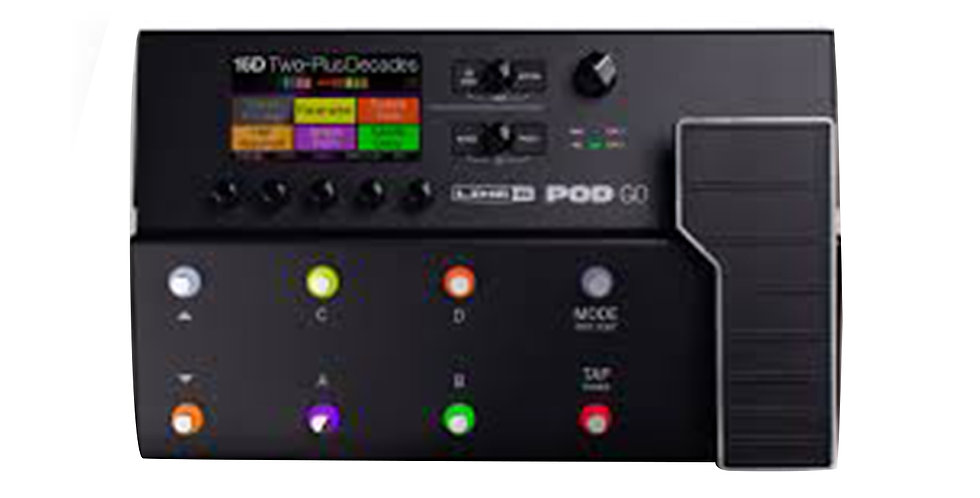 Line 6 Pod Go Modelling and Multi-Effects Pedal