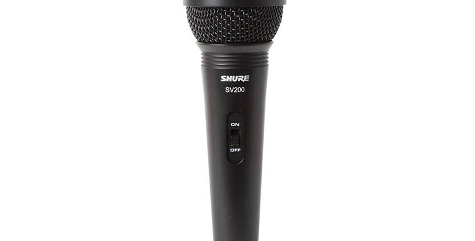 SHURE SV200, Dynamic Vocal Microphone