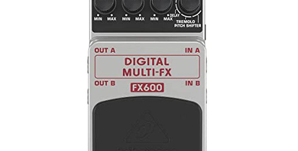 Behringer FX600 Digital MULTI-FX pedal