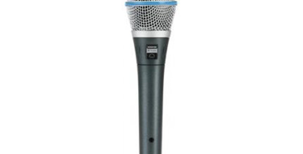 SHURE BETA 87C Vocal Microphone (Condenser)