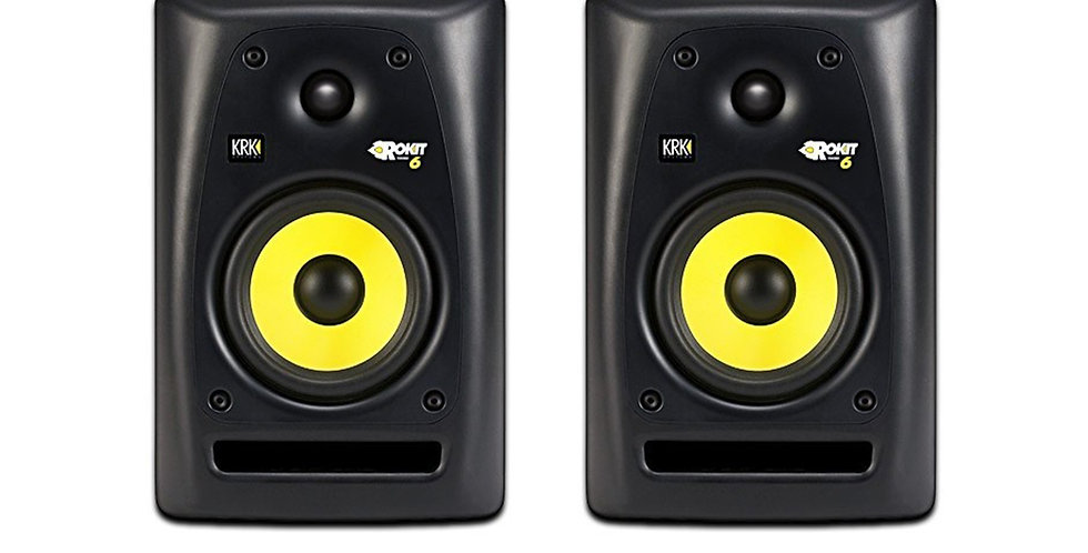 KRK ROKIT 6 G3 black studio monitors