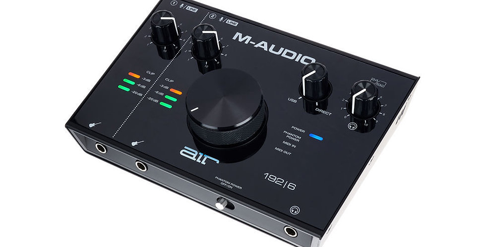 M-Audio AIR 192|6 USB 2x2 Audio Interface with MIDI