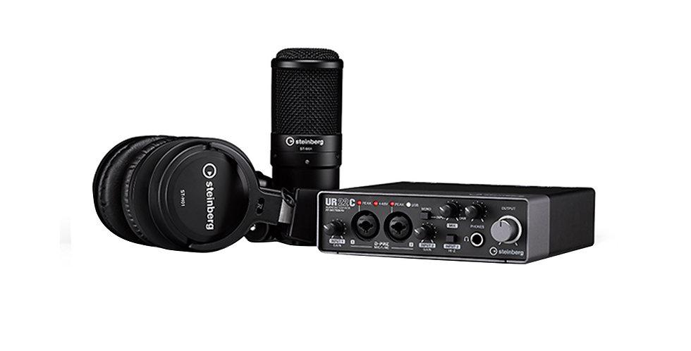 YAMAHA STEINBERG UR22-C R Recording Pack
