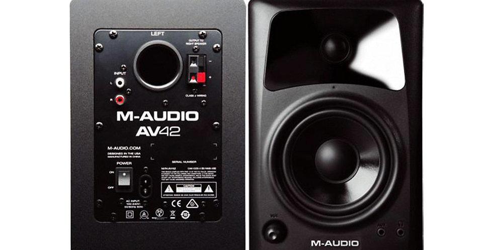 M-AUDIO AV42 Compact Desktop speaker (pair)