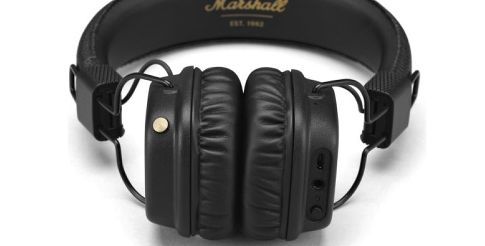MARSHALL MAJOR II (BLK) Bluetooth Headset