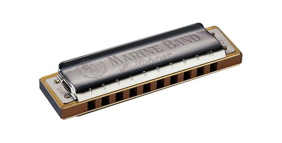 Hohner Marine Band 1896 Harmonica, Key of C and G