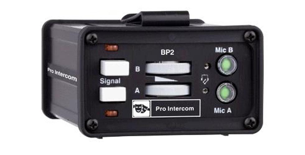 Pro Intercom BP2 Dual channel belt packs