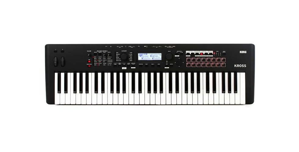 Korg Kross 2- 61 Key SYNTHESIZER WORKSTATION