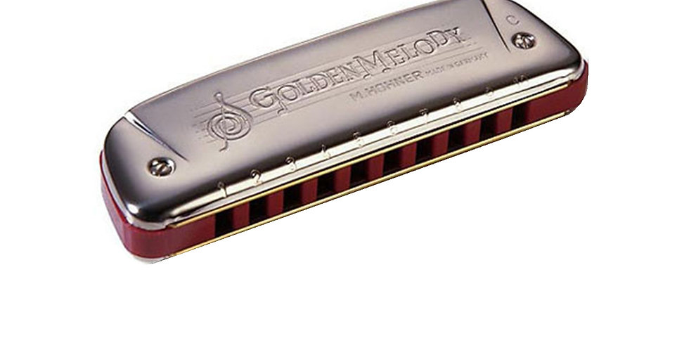HOHNER HARMONICA GOLDEN MELODY KEY-C
