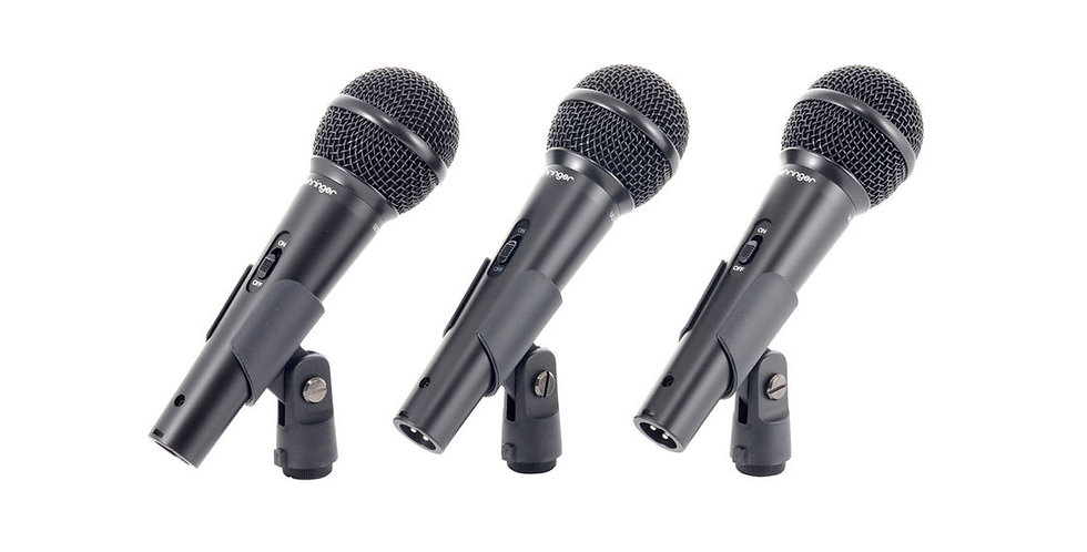 Behringer Ultravoice XM1800S, Dynamic Cardiod Vocal Microphonee
