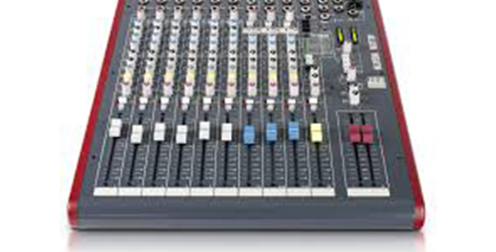 ALLEN & HEATH ZED 12FX Analogue Mixer