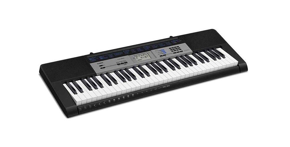 CASIO KEYBOARD CTK 1550 61 key portable keyboard