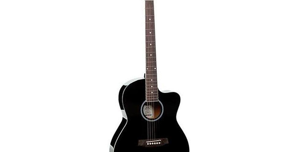 Morrison HW38C 101 BLK Acoustic Guitar