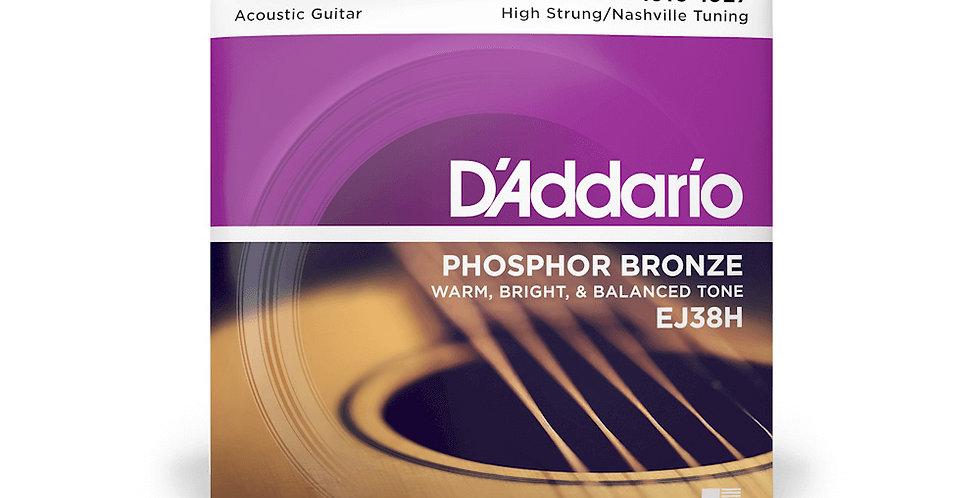 D'ADDARIO EJ38H Acoustic Guitar Strings