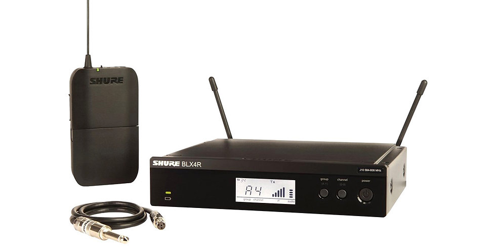SHURE BLX14 Wireless System for Guitarists