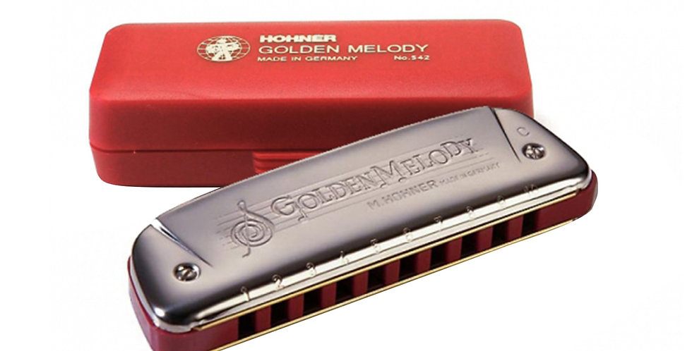 Hohner Golden Melody, Harmonica in Key of C