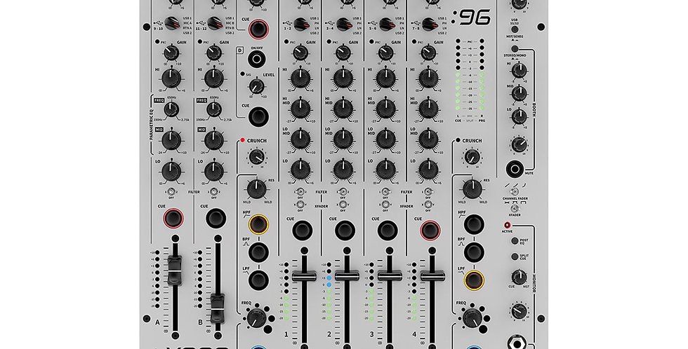 Allen & Heath Xone: 96 Analogue DJ Mixer