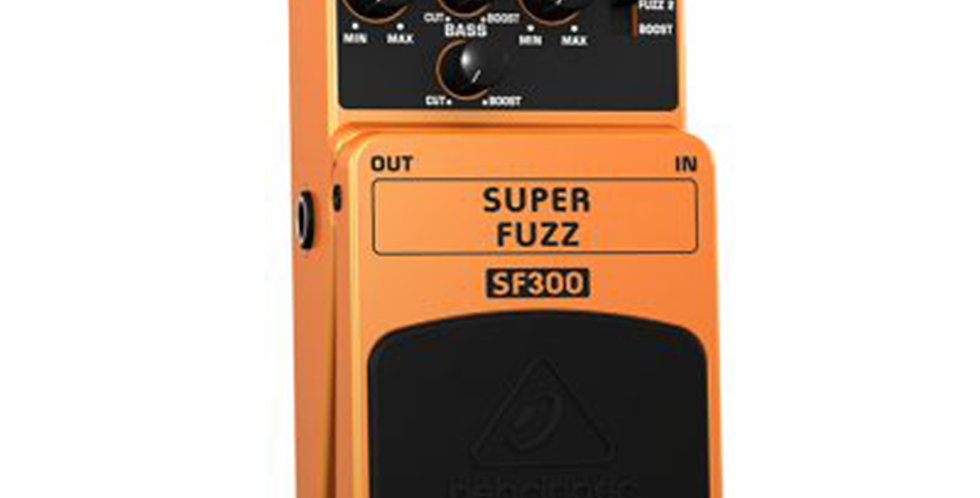 Behringer  SF300 Super Fuzz Guitar Stompbox